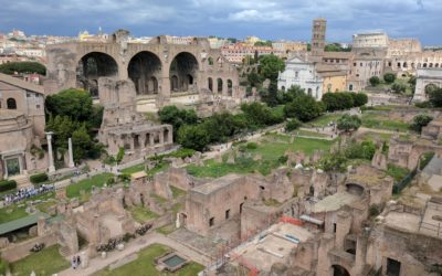 Thousands of years of history: The Roman Forum and Palatine Hill