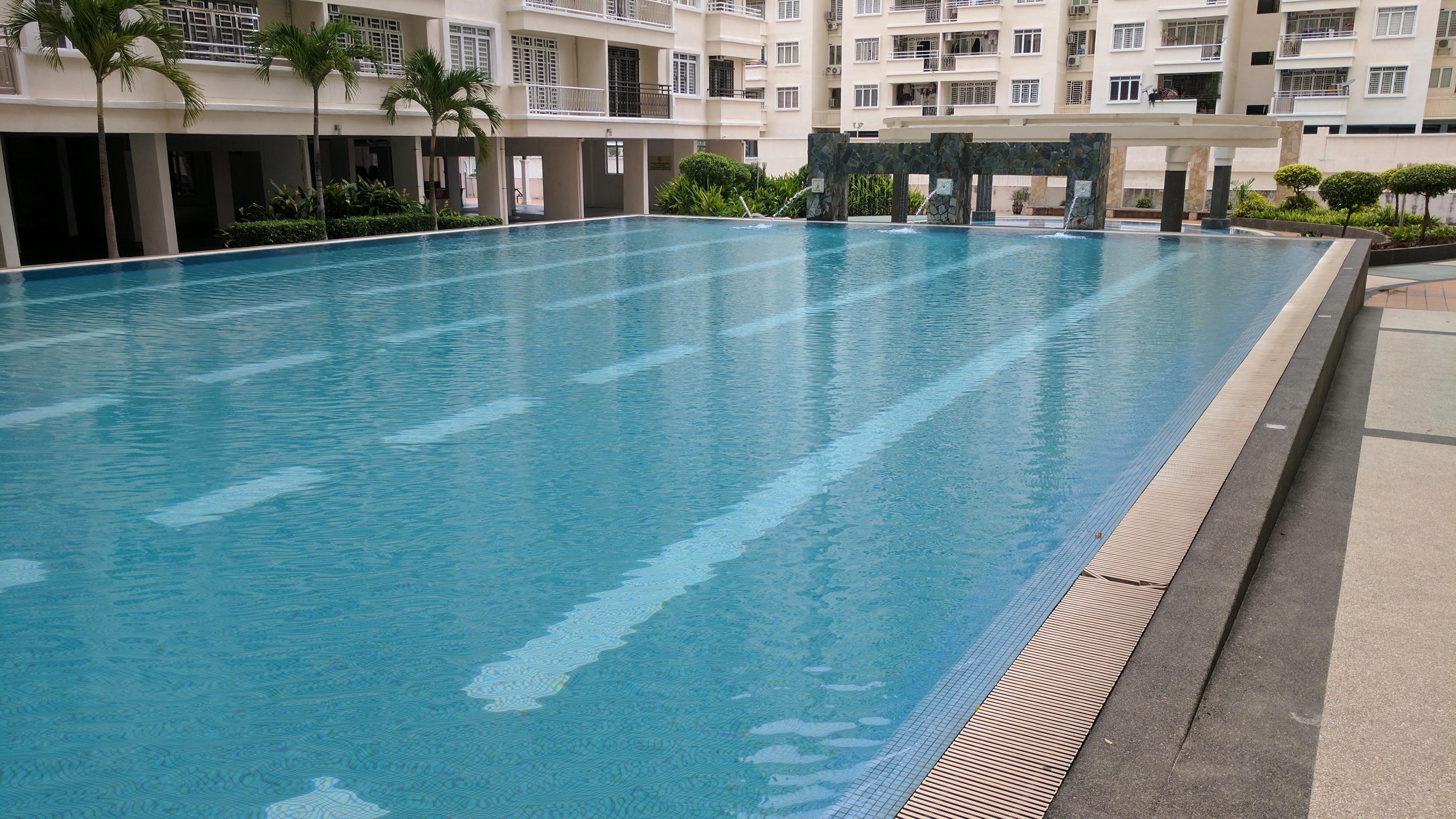 Pool in Penang, Malaysia