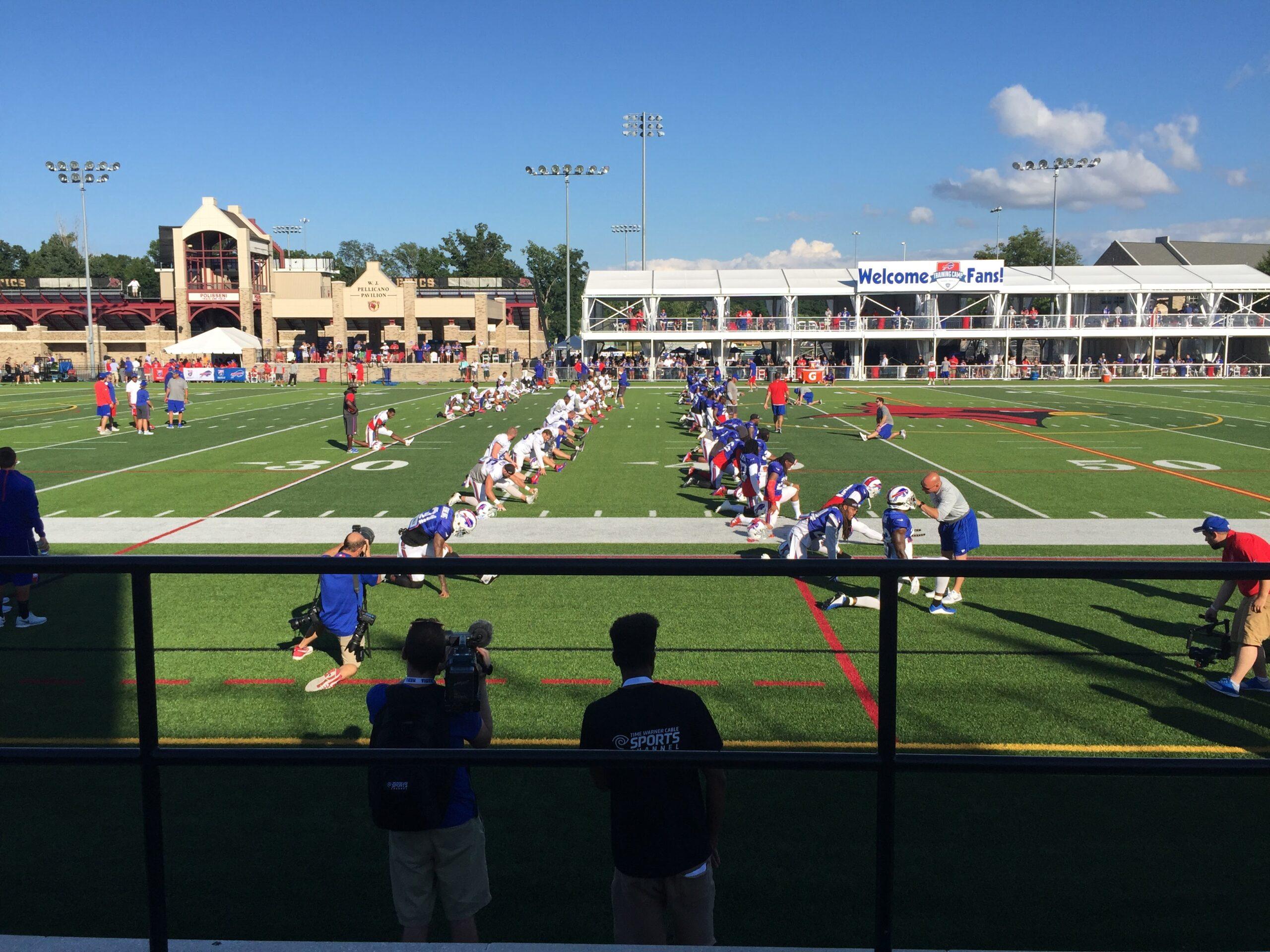 Buffalo Bills practice 2016   VincePerfetto.com